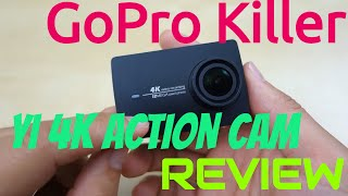 YI 4K Action Camera REVIEW Best Action Sport Camera of 2016 GoPro Killer?