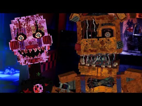 A HIDDEN LOCATION WITH TERRIFYING STARLIGHT ANIMATRONICS! | Minecraft FNAF (Five Nights at Freddys)