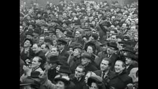Celebration of the state Israel - London, 1949 - Hatikva, Hora