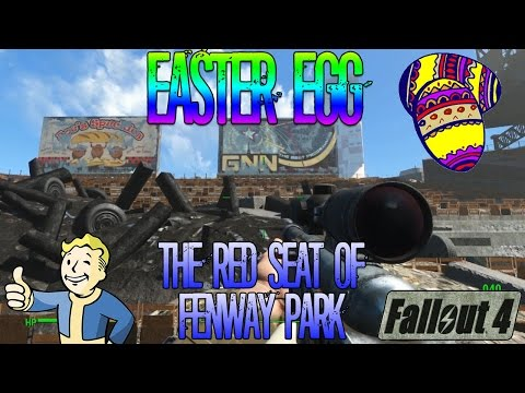 Fallout 4 | The Red Seat of Fenway Park | Easter Egg | Location Guide