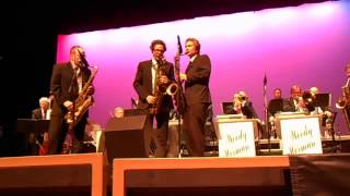 "Woody Herman Herd, ""Four Brothers"" 1-25-15 PAJA Concert"