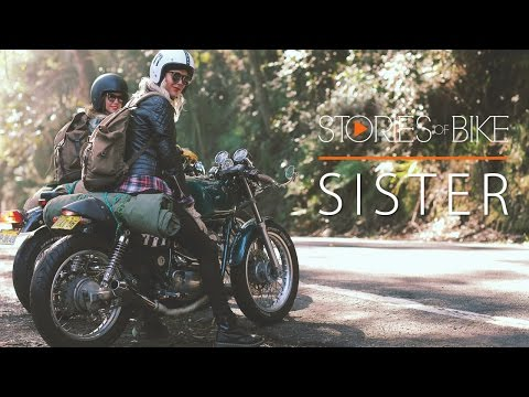 Stories of Bike  Sister A 94 Yamaha SRV250 Story
