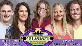 Survivor Second Chance - CAST BREAKDOWN - Season 31