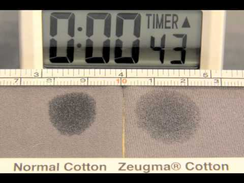 Zeugma is the new cotton with Moisture Management.  Watch to learn more!