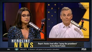 """Colin Report: Knicks front office """"laying the groundwork"""" to fire David Fizdale"""