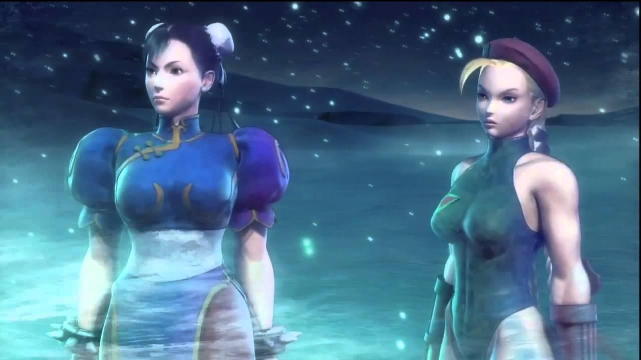 Street Fighter X Tekken Chun Li X Cammy Full Arcade Story W