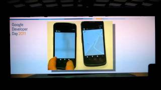 "Google Developer Day 2011 Berlin - Keynote: Android 4.0 ""Ice Cream Sandwich"" - Sparky Rhode"