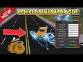 NEW EPIC VEHICLE SIMULATOR GUI! (SUPER SPEED!) ROBLOX