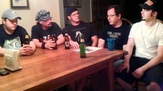 EVOKEN Exclusive 2012 Interview METAL RULES! TV Funeral Doom Metal PART 1