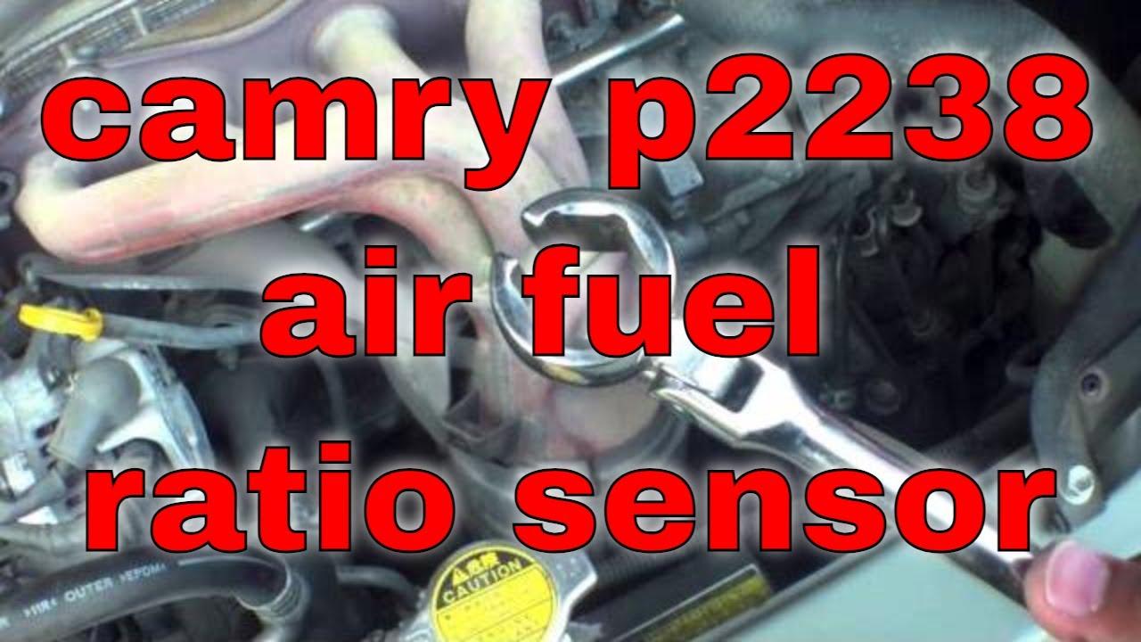 How to replace air fuel ratio sensor P2238 Toyota Camry √  YouTube