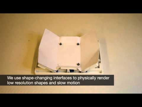 Combining Shape-Changing Interfaces and Spatial Augmented Reality Enables Extended Object Appearance