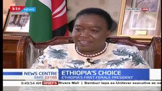 Foreign Affairs CS Monica Juma weighs in on Ethiopia\'s first female President