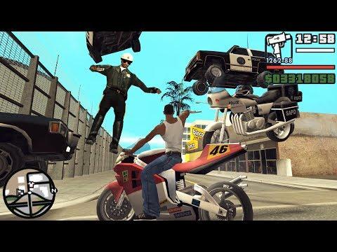 GTA San Andreas TOP 10 Best Cheats