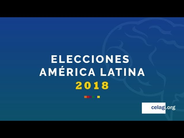 Calendario Electoral #AméricaLatina 2018