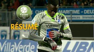 Chamois Niortais - AJ Auxerre ( 0-0 ) - Résumé - (CNFC - AJA) / 2018-19