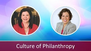 Creating a Culture of Philanthropy: Interview with Susan Holt