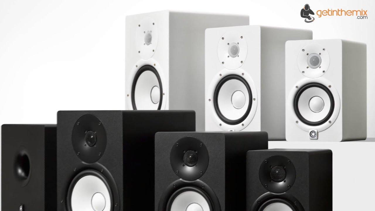 Yamaha hs8 nearfield monitors white youtube for Yamaha hs8 price