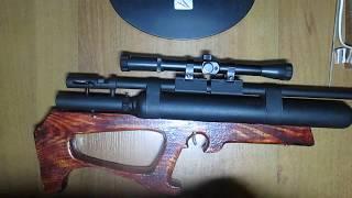 Обзор на самодельную пневматическую рср винтовку Буллпап