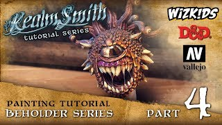 How to Paint a Wizkids Beholder - Part 4 - Special Effects