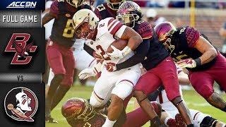 Boston College vs. Florida State Full Game | 2018 College Football