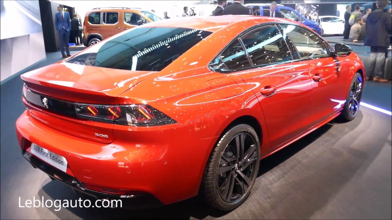 Salon De Geneve 2018 Nouvelle Peugeot 508 Gt Youtube