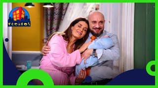 Vecinos: Silvia y Luis se convierten en padres | C15 T10 | Distrito Comedia