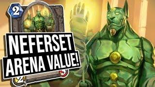 BIG HEALS! Neferset Arena Value | Paladin | Saviors of Uldum | Hearthstone