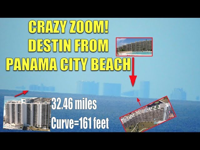 ZOOMING IN ON MIRAMAR BEACH & DESTIN FROM PANAMA REVEALS MISSING CURVE.