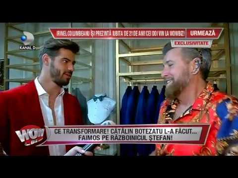 WOWBIZ (06.06.2018) - Razboinicul Stefan de la EXATLON, transformat in faimos de catre Bote!