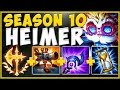 WHY ARE HEIMER TURRETS ABLE TO STACK NEW CONQ?? HEIMERDINGER SEASON 10 GAMEPLAY! - League of Legends