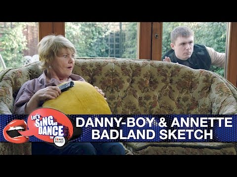 DannyBoy Hatchard and Annette Badland sketch  Let's Sing and Dance for Comic Relief 2017  BBC One
