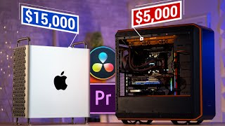 Mac Pro vs AMD Threadripper PC for Video Editing in 2020