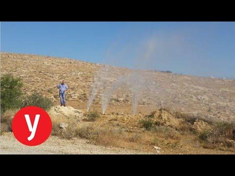עשרות משפחות בהר חברון נותקו ממים בגלל חבלה בצינור