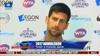Sports This Morning: Novak Djokovic To Have Agassi As His Coach In 2017 Wimbledon