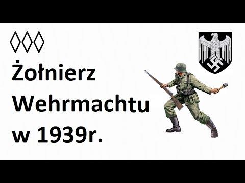 Żołnierz Wehrmachtu w 1939r.