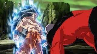 Goku Ultra Instinct ssj3 vs Jiren - Power Levels - Dragon Ball Super