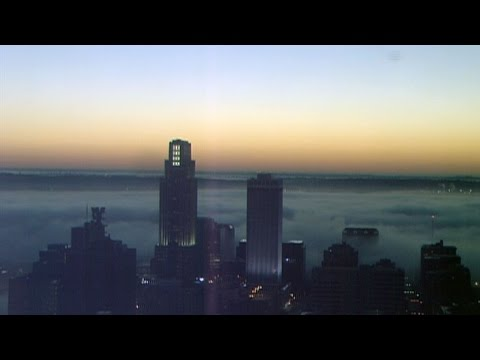 Time lapse: Fog across the Omaha skyline