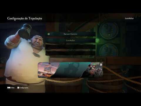 LIVE - SEA OF TEVEZ / 13 Piratas sobre um caixão ho ho ho e uma garrafa de Rum