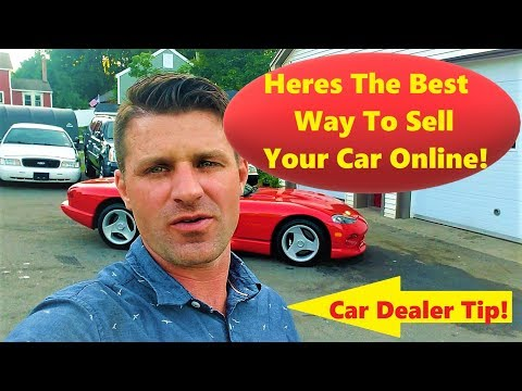 Best Way to Sell your car online RIGHT NOW!!!