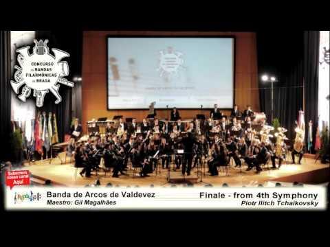 CBF Braga 2016   Banda de Arcos de Valdevez   Finale from 4th Symphony