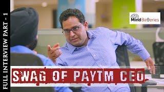 Swag of Paytm CEO Part 1 Vijay Shekhar Sharma Startupreneur Series