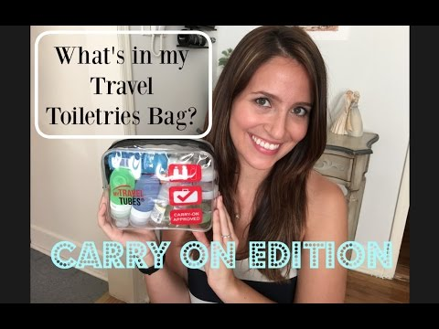 what's-in-my-carry-on- -toiletries