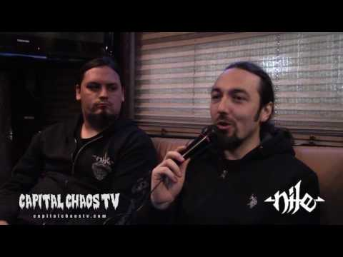 Four Minutes With Brian & Brad of Nile on Capital Chaos TV