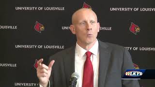 UofL introduces Chris Mack as head basketball coach