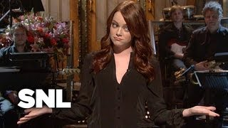 Emma Stone Monologue: Nerds Love Emma - Saturday Night Live