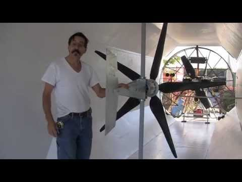 Missouri Wind and Solar wind tunnel disaster part 9 1st wind turbine in