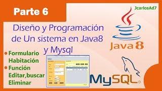 Sistema de Ventas Reserva Hotel Java 8 y Mysql (6-28)Formulario Mostrar, Editar, Eliminar, buscar(Descarga desde aquí el sistema en java completo: http://www.incanatoit.com/2014/06/sistema-ventas-hotel-java-mysql.html En este video se programa el ..., 2014-04-18T09:44:25.000Z)