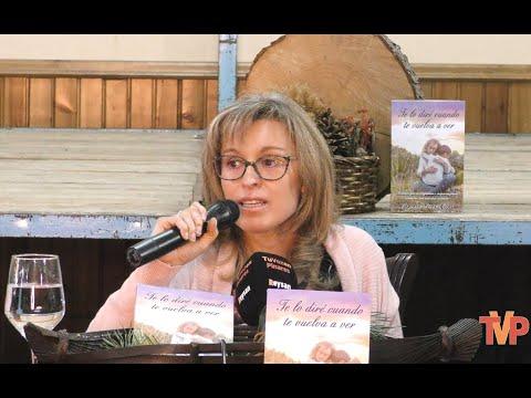 """Presentación del libro """"Te lo diré cuando te vuelva a ver"""" de Virginia Pérez en Hontoria del Pinar"""