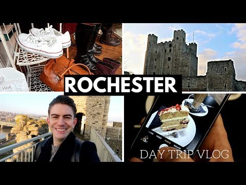 ROCHESTER DAY TRIP VLOG | ROCHESTER KENT TRAVEL