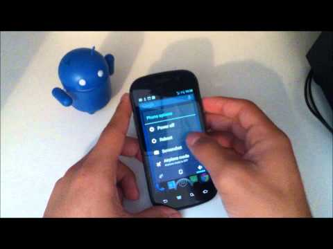 CM10 (CyanogenMod 10) Boot Animation/Logo on GSM Nexus S (aka Crespo) First Look